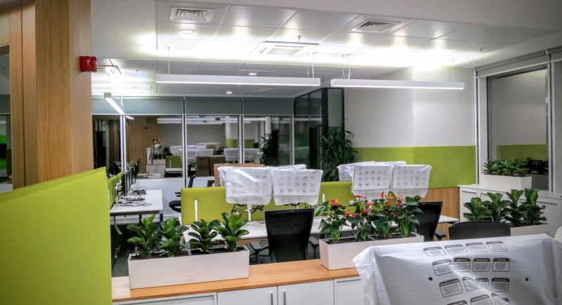 Офисно осветлени