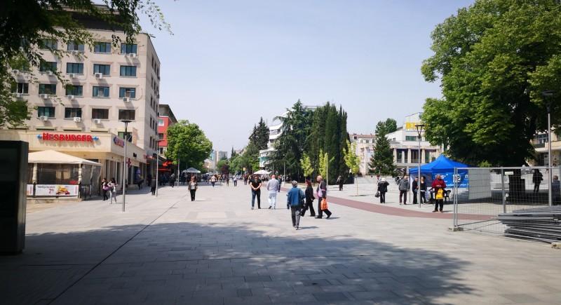 Стара Загора - Улично осветление на центъра
