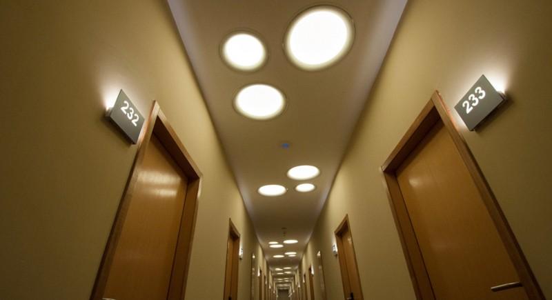Интериорно осветление за хотели